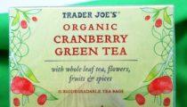 Trader Joe's Organic Cranberry Green Tea, reviewed