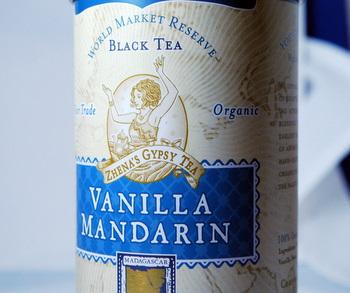 Zhena's Vanilla Mandarin Tea