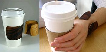 Bentwood coffee cuff