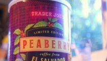 Trader Joe's Peaberry Coffee from El Salvador, reviewed