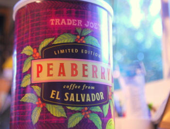 Trader Joe's Peaberry from El Salvador