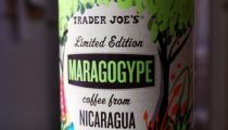 Trader Joe's Maragogype Coffee, reviewed