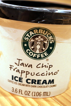 Java Chip Frappuccino Ice Cream
