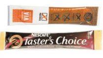 Instant coffee sticks taste test
