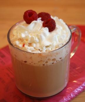 Raspberry Latte