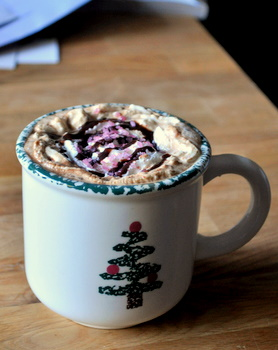 Dark Chocolate Peppermint Mocha