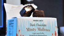 Trader Joe's Dark Chocolate Minty Mallows