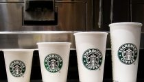 "Starbucks rolls out ""Trente"" size"