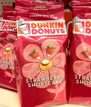 Dunkin' Strawberry Shortcake Coffee