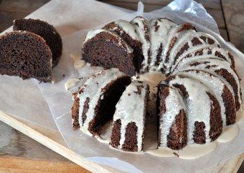 Mocha Bundt Cake with Coffee Glaze