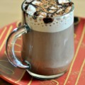 Chocolate Pumpkin Pie Spice Latte