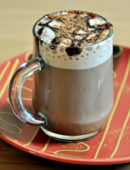 Chocolate Pumpkin Spice Latte