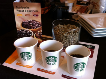 Starbucks Coffee Tasting