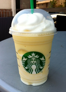 Mango Passionfruit Frappuccino Smoothie