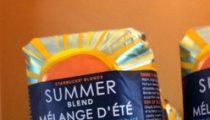 Spotted: Starbucks Mélange d'été