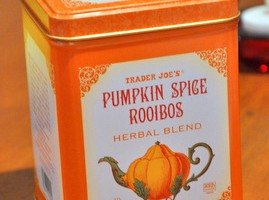 Trader Joe's Pumpkin Spice Rooibus, reviewed