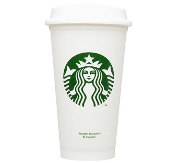 Reusable Starbucks Cup