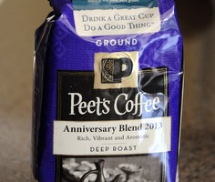 Peet's Anniversary Blend 2013, reviewed