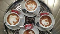 Latte art at a new level, from Kazuki Yamamoto