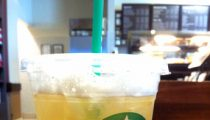 Starbucks Iced Peach Green Tea Lemonade, reviewed