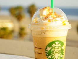 Starbucks Caramel Ribbon Crunch Frappuccino, reviewed