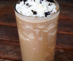 Homemade Mocha Cookie Crumble Frappuccino