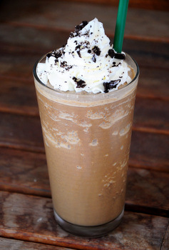 Homemade Cookie Crumble Frapp
