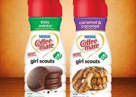 CoffeeMate launches Girl Scout Cookie-Flavored Creamers