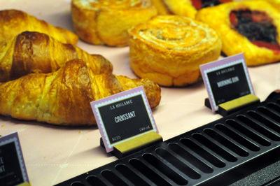 Croissants at La Boulange