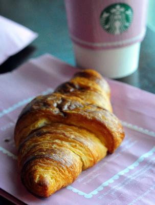 La Boulange Croissant at Starbucks