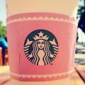 Starbucks Pink Sleeve