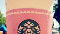 Starbucks celebrating La Boulange launch with a little pink