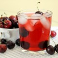 Cherry Green Tea Iced Tea