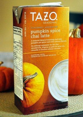 Tazo Pumpkin Spice Chai