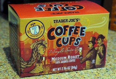 TJ's Single Serve Coffee Cups