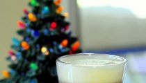 Homemade Eggnog Latte