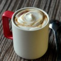 Maple Latte with Maple Whipped Cream
