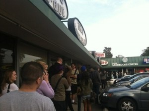 Dumb Starbucks Line