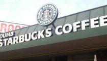 Dumb Starbucks Opens, Tests Parody Laws in Los Angeles