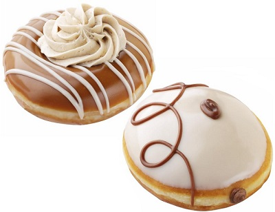 Krispy Kreme Launches New Coffee Donuts
