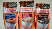 Dunkin' Donuts Bakery Series Old Fasioned, Jelly and Chocolate Glazed Donut Coffees, reviewed