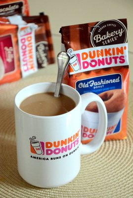 Dunk Donuts Old Fashioned Donut Coffee