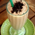 Homemade Thin Mint Frappuccino