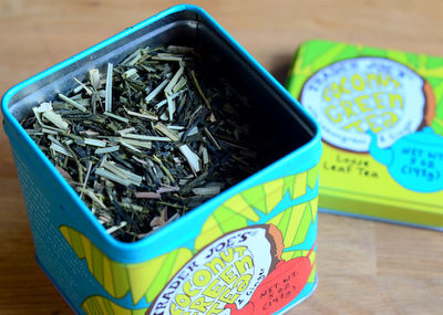 Trader Joe's Loose Leaf Coconut Green Tea, reviewed