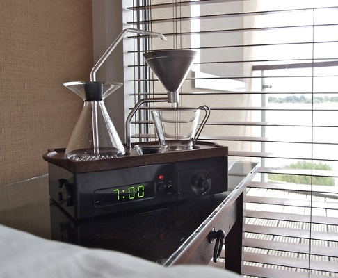 A Coffee-Making Alarm Clock
