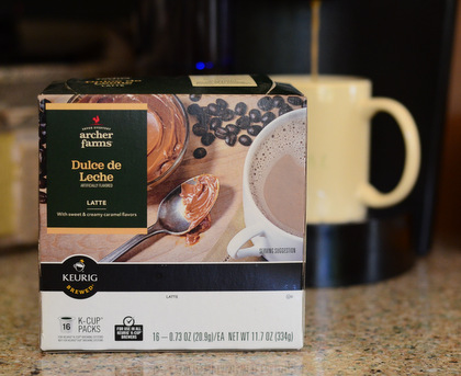 Archer Farms Dulce de Leche Latte K Cups, reviewed