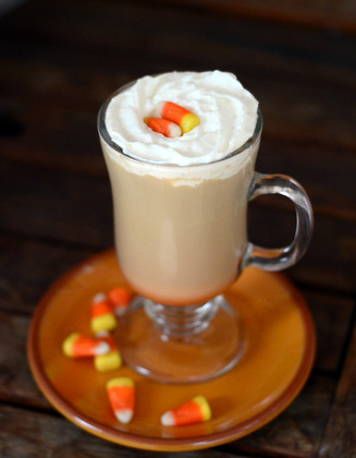 Candy Corn Latte
