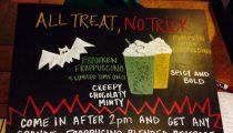 Starbucks Launches Franken Frappuccino for Halloween