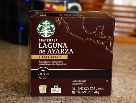 Starbucks Guatamala Laguna de Ayarza Single Origin K-Cups, reviewed