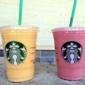 Starbucks Evolution Fresh Mango-Carrot and Strawberry Smoothies